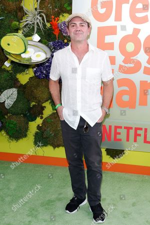 Stock Image of Joe Lo Truglio attends the Season 1 premiere of Green Eggs and Ham at Hollywood Post 43 in Los Angeles, California, USA, 03 November 2019. Green Eggs and Ham launches globally on Netflix on 08 November 2019.