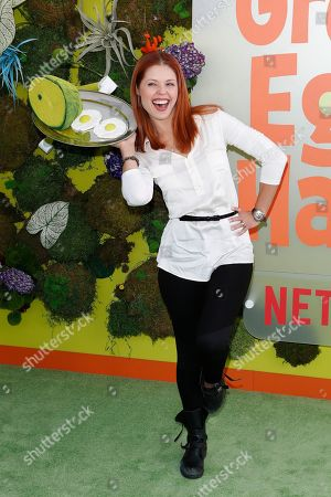 Anna Trebunskaya attends the Season 1 premiere of Green Eggs and Ham at Hollywood Post 43 in Los Angeles, California, USA, 03 November 2019. Green Eggs and Ham launches globally on Netflix on 08 November 2019.