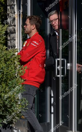 Stock Photo of Sebastian Vettel (GER#5), Scuderia Ferrari Mission Winnow, Ross Brawn