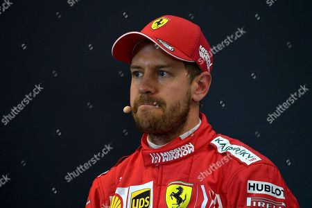 2.Startplatz für Sebastian Vettel (GER#5), Scuderia Ferrari Mission Winnow