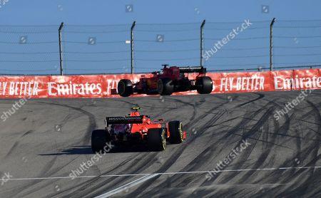 Sebastian Vettel (GER#5), Scuderia Ferrari Mission Winnow, Charles Leclerc (MCO#16), Scuderia Ferrari Mission Winnow