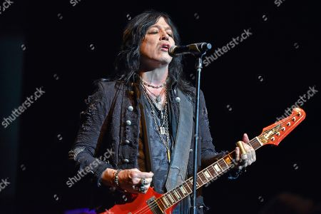 Stock Photo of Tom Keifer performs at the Arcada Theatre, in St. Charles, Ill