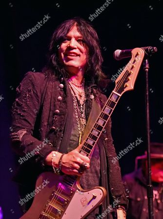 Stock Image of Tom Keifer performs at the Arcada Theatre, in St. Charles, Ill