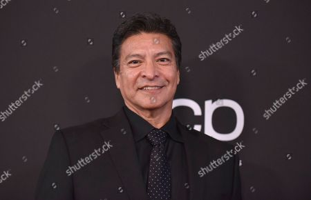Gil Birmingham arrives at the 23rd annual Hollywood Film Awards, at the Beverly Hilton Hotel in Beverly Hills, Calif