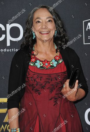 Tantoo Cardinal arrives at the 23rd annual Hollywood Film Awards, at the Beverly Hilton Hotel in Beverly Hills, Calif