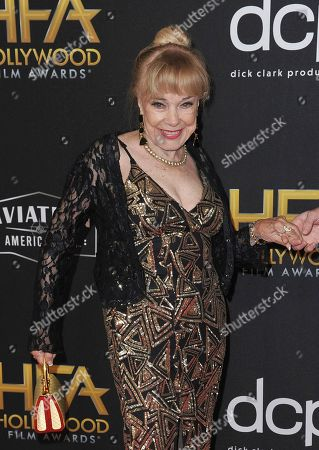 Terry Moore arrives at the 23rd annual Hollywood Film Awards, at the Beverly Hilton Hotel in Beverly Hills, Calif