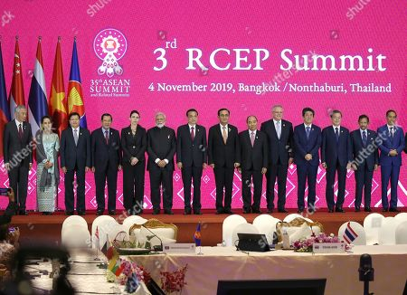 Editorial photo of The 35th ASEAN Summit and Related Summits, in Bangkok, Nonthaburi, Thailand - 04 Nov 2019