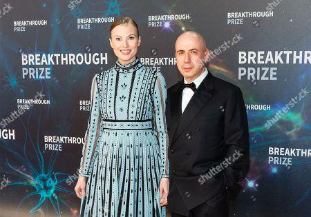 Julia Milner and Yuri Milner