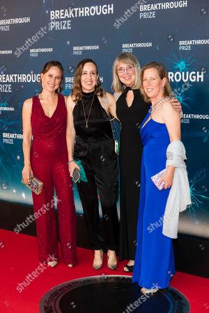 Anne Wojciciki, Janet Wojcicki, Susan Wojcicki and Esther Wojcicki