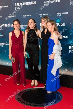 Stock Photo of Anne Wojciciki, Janet Wojcicki, Susan Wojcicki and Esther Wojcicki