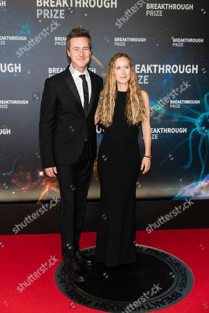 Edward Norton and Shauna Robertson