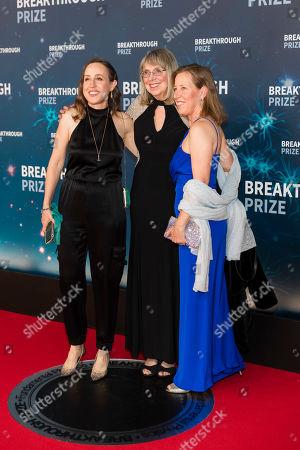 Stock Image of Janet Wojcicki, Esther Wojcicki and Susan Wojcicki