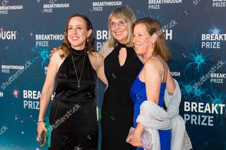 Janet Wojcicki, Esther Wojcicki and Susan Wojcicki