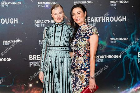 Editorial photo of Breakthrough Prize Ceremony, Arrivals, Mountain View, USA - 03 Nov 2019