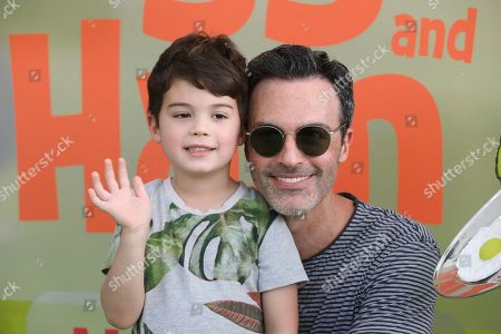 """Conrad Scott, Reid Scott. Conrad Scott and Reid Scott attend the premiere of Netflix's """"Green Eggs and Ham"""" at the Hollywood American Legion Post 43 on in Los Angeles"""