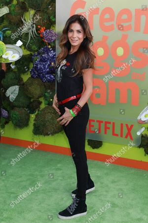 """Patricia Manterola attends the premiere of Netflix's """"Green Eggs and Ham"""" at the Hollywood American Legion Post 43 on in Los Angeles"""