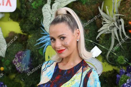"""Dorit Kemsley attends the premiere of Netflix's """"Green Eggs and Ham"""" at the Hollywood American Legion Post 43 on in Los Angeles"""