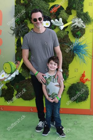 """Reid Scott, Conrad Scott. Reid Scott and Conrad Scott attend the premiere of Netflix's """"Green Eggs and Ham"""" at the Hollywood American Legion Post 43 on in Los Angeles"""