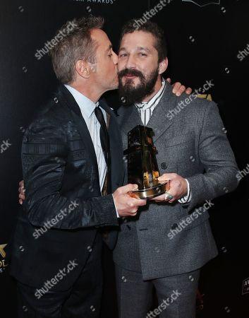 Robert Downey Jr and Shia LaBeouf