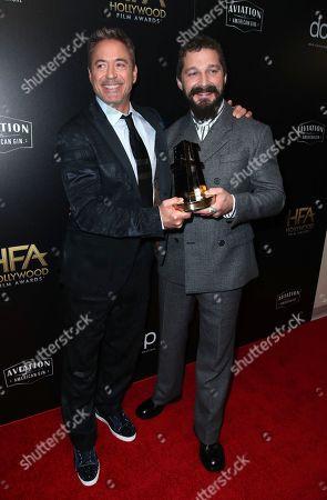 Robert Downey Jr. and Shia LaBeouf