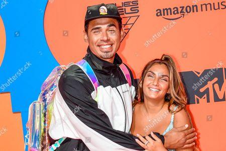 DJ Afrojack and Elettra Miura Lamborghini