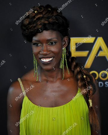 US businesswoman Bozoma Saint John poses for photographers upon arrival at the 23rd annual Hollywood Film Awards at The Beverly Hilton in Los Angeles, California, USA, 03 November 2019.
