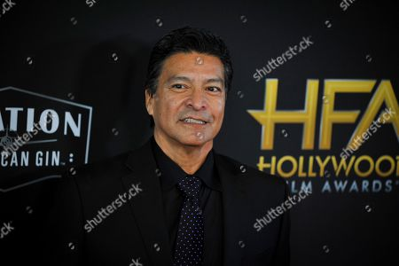Gil Birmingham poses for photographers upon arrival at the 23rd annual Hollywood Film Awards at The Beverly Hilton in Los Angeles, California, USA, 03 November 2019.