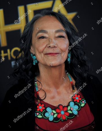 Tantoo Cardinal poses for photographers upon arrival at the 23rd annual Hollywood Film Awards at The Beverly Hilton in Los Angeles, California, USA, 03 November 2019.