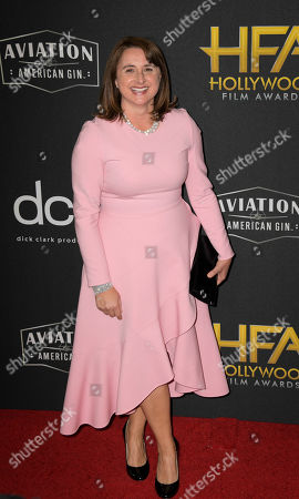 Victoria Alonso poses for photographers upon arrival at the 23rd annual Hollywood Film Awards at The Beverly Hilton in Los Angeles, California, USA, 03 November 2019.