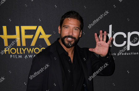Stock Photo of Paul Sloan poses for photographers upon arrival at the 23rd annual Hollywood Film Awards at The Beverly Hilton in Los Angeles, California, USA, 03 November 2019.