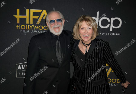 Steve Jaffe (L) and Susan Blakely (R) pose for photographers upon their arrival for the 23rd Annual Hollywood Film Awards at the Beverly Hilton in Los Angeles, California, USA, 3 November 2019.