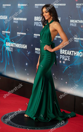 Kara McCullough seen at the 8th Annual Breakthrough Prize Ceremony at NASA Ames Research Center, in Mountain View, Calif
