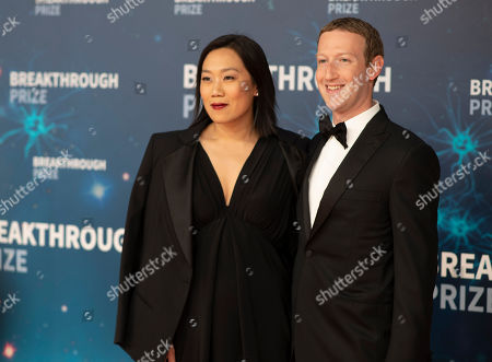 Editorial picture of 8th Annual Breakthrough Prize Ceremony, Mountain View, USA - 03 Nov 2019