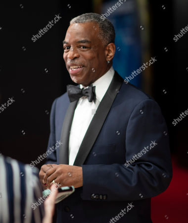 LeVar Burton seen at the 8th Annual Breakthrough Prize Ceremony at NASA Ames Research Center, in Mountain View, Calif