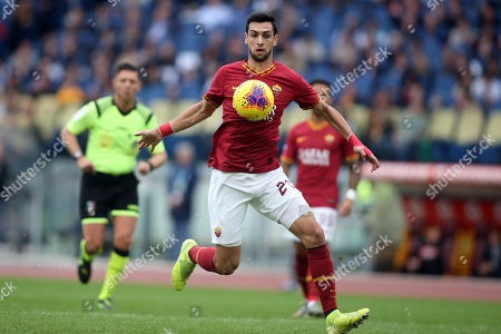 Javier Pastore (AS ROMA) in action