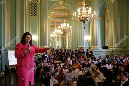 San Francisco Mayor London Breed gestures while speaking at the annual Women In Construction Expo in San Francisco. San Francisco's mayor faces easy re-election in Tuesday's election but a hefty list of problems to solve, including a homelessness crisis, drug epidemic and a housing shortfall. The former president of the Board of Supervisors narrowly won a special June 2018 election to fill the seat left vacant by the sudden death of Mayor Ed Lee