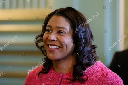 San Francisco Mayor London Breed waits to address the annual Women In Construction Expo in San Francisco. San Francisco's mayor faces easy re-election in Tuesday's election but a hefty list of problems to solve, including a homelessness crisis, drug epidemic and a housing shortfall. The former president of the Board of Supervisors narrowly won a special June 2018 election to fill the seat left vacant by the sudden death of Mayor Ed Lee