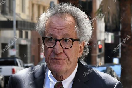 Editorial image of Nationwide News appeal against actor Geoffrey Rush's deformation case in Sydney, Australia - 04 Nov 2019