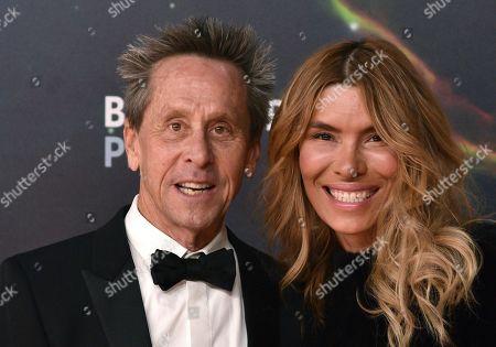 Stock Photo of Brian Grazer and Veronica Smiley