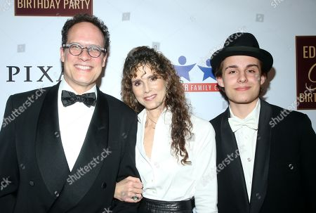 Stock Picture of Diedrich Bader, Dulcy Rogers, Sebastian Bader