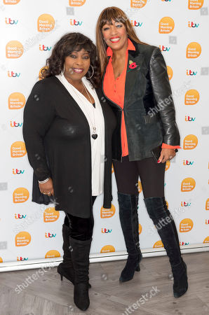 Stock Image of Ruby Turner and Sheila Ferguson