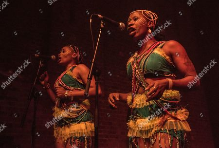 Editorial picture of Seun Kuti and Egypt 80 in concert at Village Underground, London, UK - 03 Nov 2019