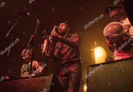 Editorial photo of Seun Kuti and Egypt 80 in concert at Village Underground, London, UK - 03 Nov 2019