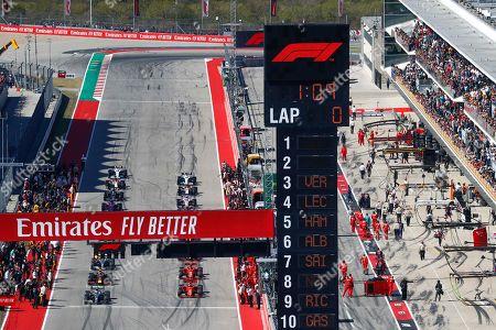Editorial image of Formula 1 World Championship 2018, Austin, USA - 03 Nov 2019