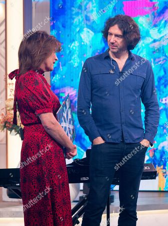 Lorraine Kelly with Snow Patrol - Gary Lightbody