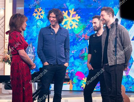 Snow Patrol - Gary Lightbody, Johnny McDaid and Nathan Connolly