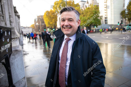 Stock Photo of Shadow Secretary of State for Health Jon Ashworth arrives at the Houses of Parliament this morning.