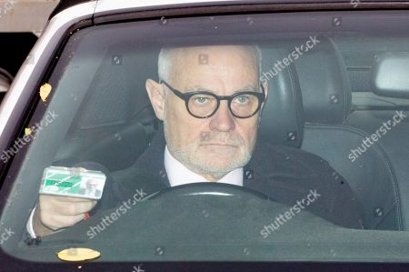 Crispin Blunt MP arrives at the Houses of Parliament this morning.