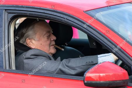 Father of the House Kenneth Clarke MP arrives at the Houses of Parliament.