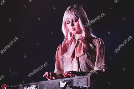 Editorial image of Chromatics in concert at the Club to Club Festival, Turin, Italy - 03 Nov 2019